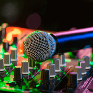 Micrófono Dj