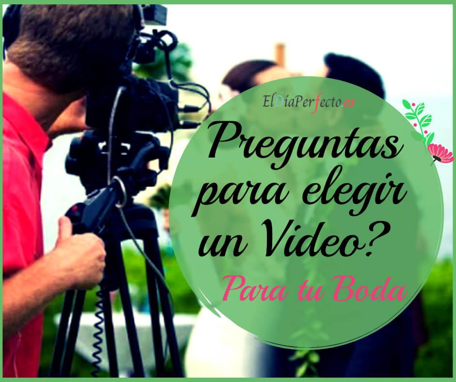 9 preguntas que debes hacer a tu videógrafo de bodas