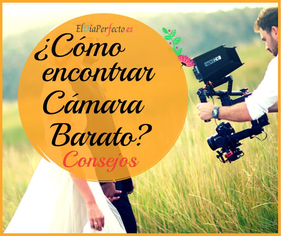 Cómo encontrar un videógrafo (cámara) de bodas barato